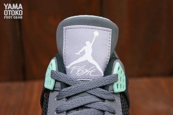 Air Jordan IV Retro Green Glow Detailed Look