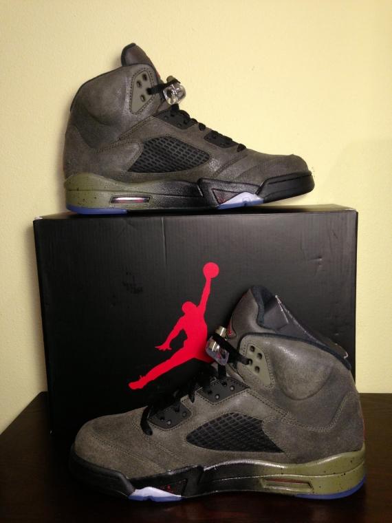 Air Jordan V Fear Detailed Look