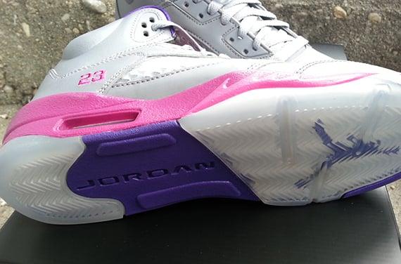 Air Jordan V GS Cement Grey Another Look