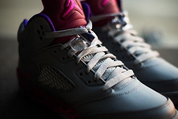 Air Jordan V GS Cement Grey Detailed Look