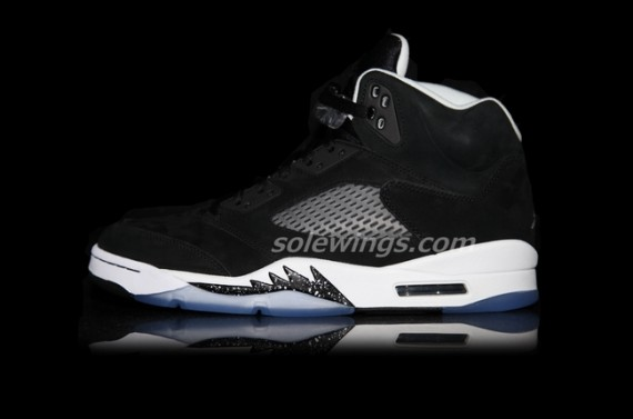 Air Jordan V Oreo Yet Another Detailed Look