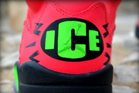Air Jordan V Vanilla Ice Custom by Freaker Sneaks
