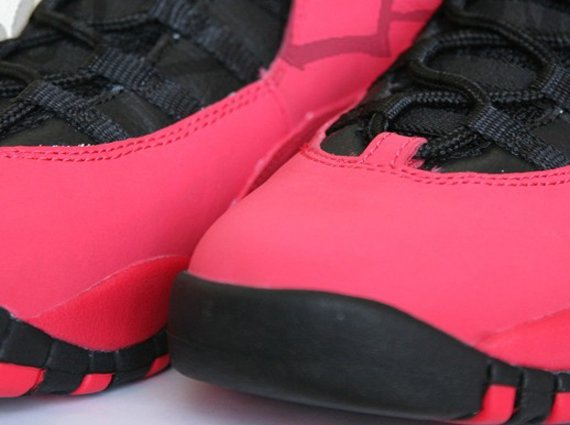Air Jordan X GS Red Another Look