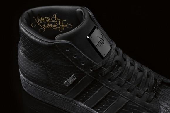 Big Sean x adidas Originals Pro Model II Black Officially Unveiled