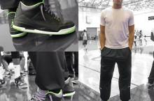Celebrity Sneaker Watch: Blake Griffin Stands Tall in Air Jordan III (3) 'Joker'