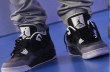 Celebrity Sneaker Watch: Bow Wow Takes 106 & Park Stage in Air Jordan IV (4) 'Fear'