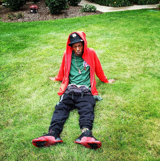 celebrity-sneaker-watch-joey-bada$$-in-air-jordan-xii-12-flu-game