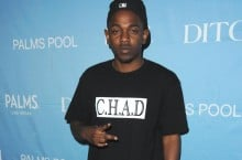 Celebrity Sneaker Watch: Kendrick Lamar Hits Vegas in Air Jordan IV (4) 'Fear'