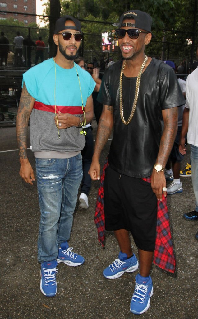 celebrity sneaker watch swizz beatz fabolous rock matching reebok questions video