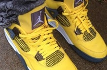 Celebrity Sneaker Watch: Trinidad James Wear Air Jordan IV (4) 'Lightning'