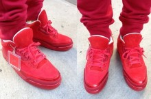 Celebrity Sneaker Watch: Trinidad James Shows Off His Air Jordan III (3) 'Legends of the Summer' + More