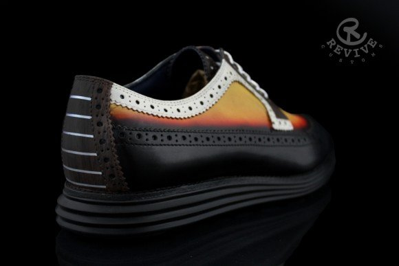 Cole Haan LunarGrand Burnout by Revive Customs