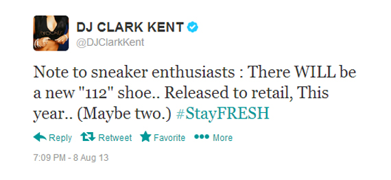 DJ Clark Kent x Nike Collaboration To Release in 2013