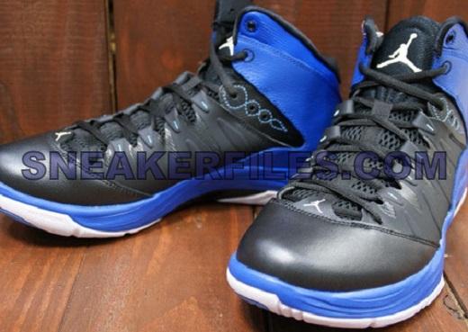 Jordan Prime Fly Black Blue Detailed Look