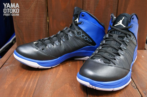Jordan Prime Fly Black Blue Detailed Look