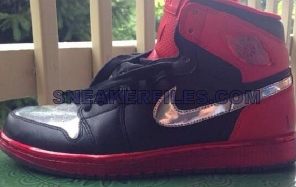 Justin Timberlake x Air Jordan 1 Legends of The Summer Black Red Silver More Pics