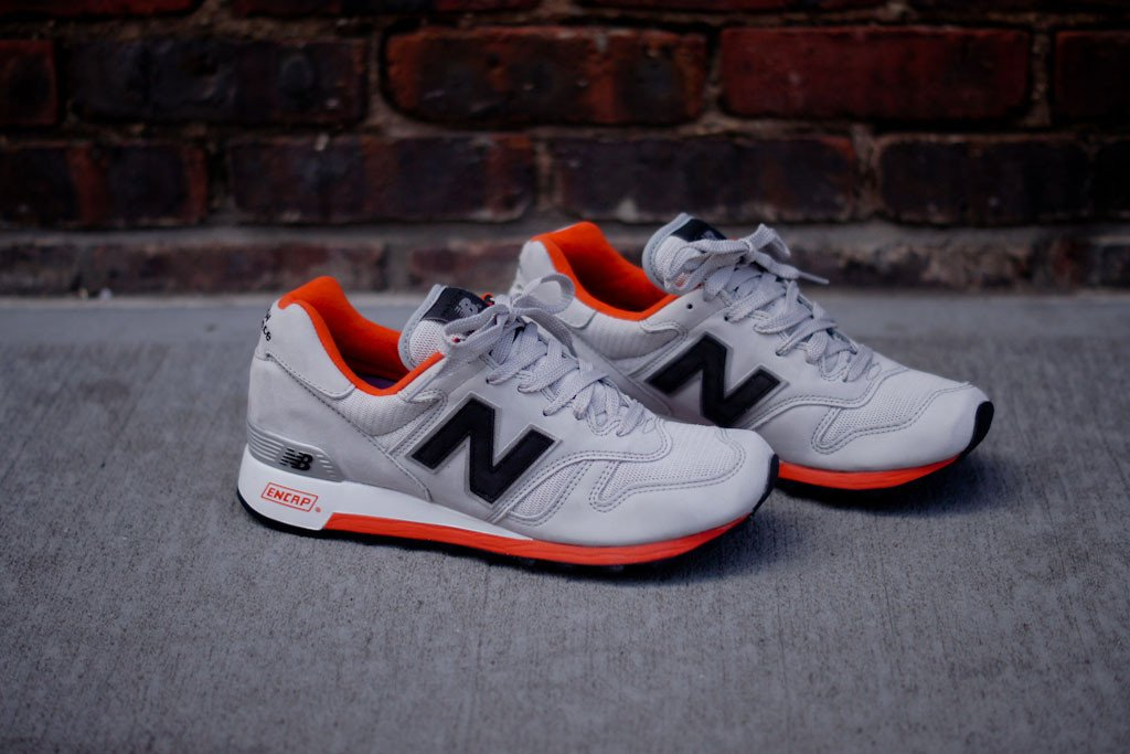 New Balance Grey Orange