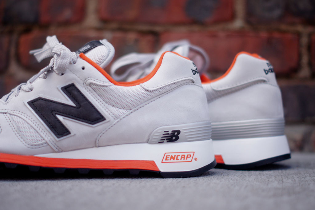 new balance 1300 grey orange