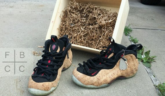 Nike Air Corkposite Customs by FBCC