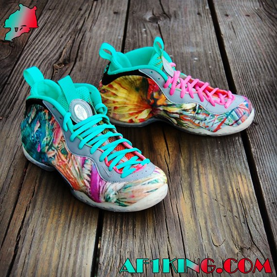 Nike Air Foamposite One 305 Customs by Gourmet Kickz
