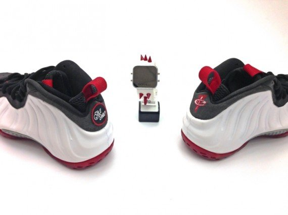 Nike Air Foamposite One 3M Bulls Customs by Sole Swap