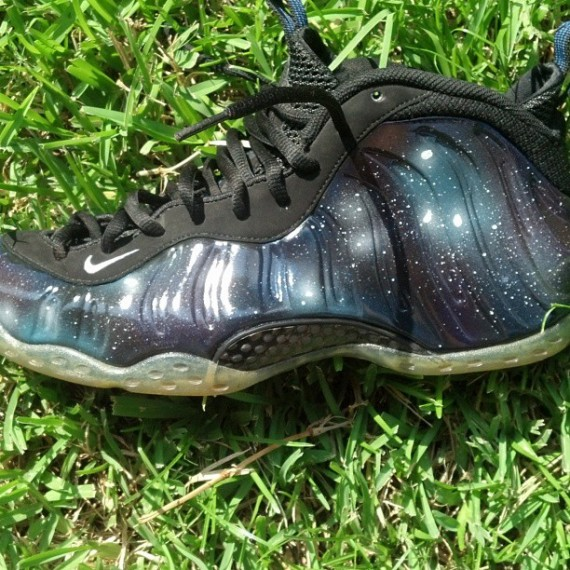 Nike Air Foamposite One Galaxy Customs by Cody Moore