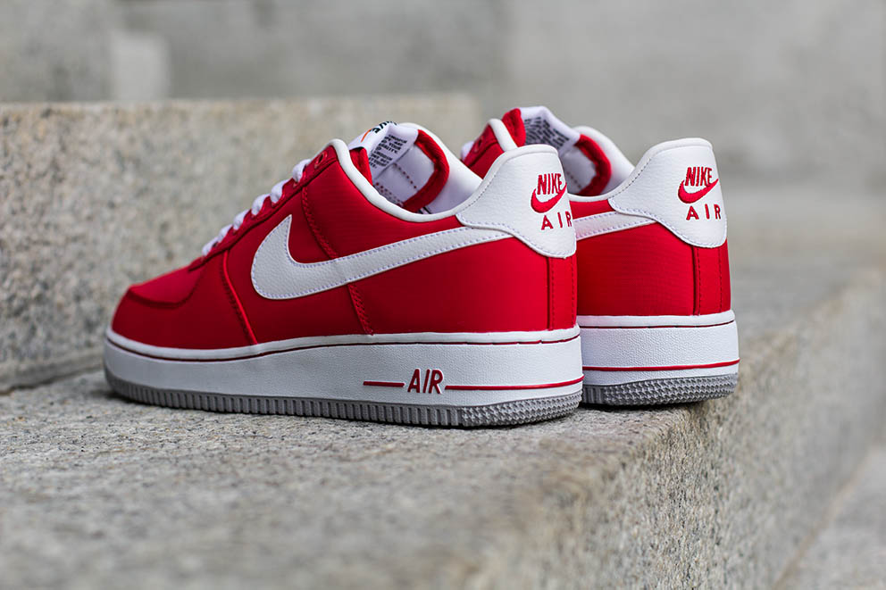 nike air force 1 low red woman videos
