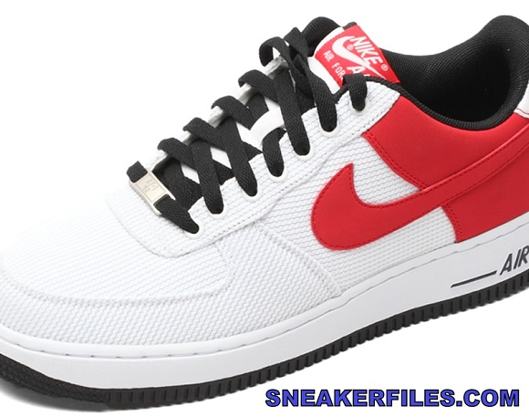 Nike Air Force 1 Low White Cosmic Red First Look