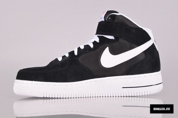 Nike Air Force 1 Mid Blazer Black Now Available