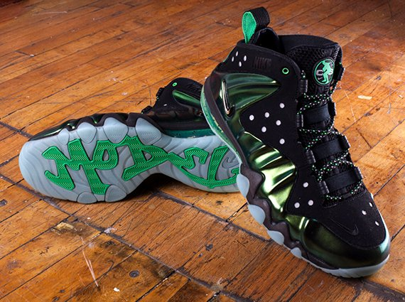 Nike Barkley Posite Max Gamma Green Release Reminder