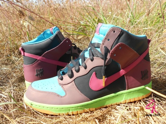 Nike Dunk High UNDFTD Customs by Zadeh Kicks