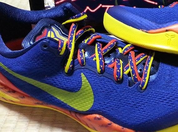 Nike Kobe 8 Deep Royal Blue Tour Yellow Midnight Navy Release Date