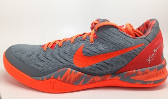 Nike Kobe 8 PP Grey Orange