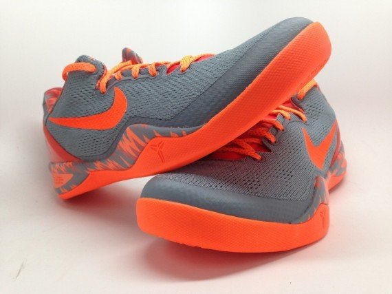 Nike Kobe 8 PP – Grey – Orange | SneakerFiles