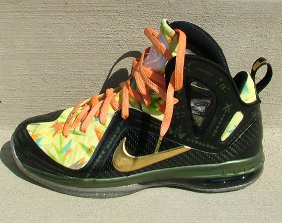 Nike LeBron 9 Elite 2x Champ Customs by Nate Dockery