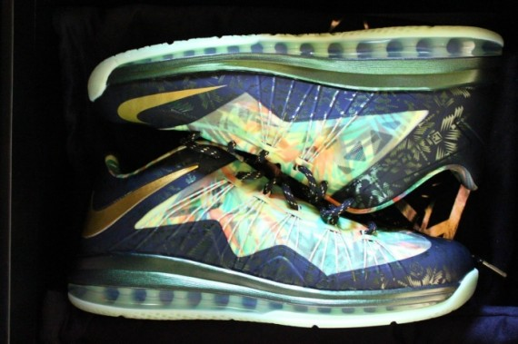 Nike LeBron X Championship Pack Release Reminder