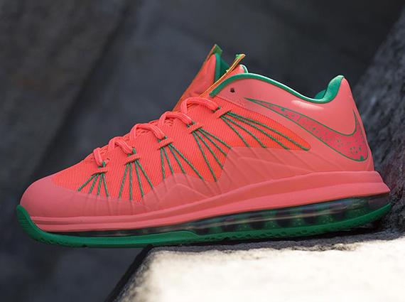 "Nike LeBron X Low ""Bright Mango"" - Another Look  1fdd883f9b42"