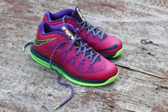 Nike LeBron X Low Raspberry Red New Release Date
