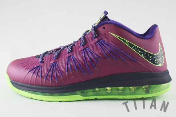 349d92c6bb1f delicate Nike LeBron X 10 Low Raspberry Red Release Date - the-well ...