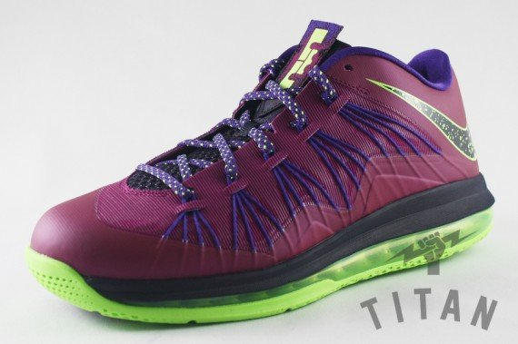 Nike LeBron X Low Raspberry Red Release Date