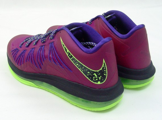 Nike LeBron X Low Raspberry Red Release Reminder