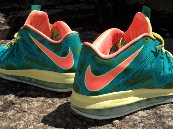 Nike LeBron X Low Reverse Palmer by DeJesus Customs