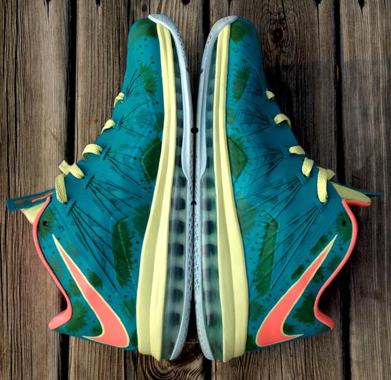 Nike LeBron X Low Reverse Palmer by DeJesus Customs