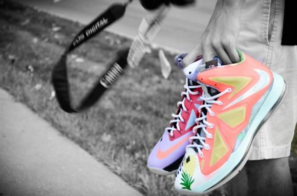 Nike LeBron X What the LeBron by DMC Customs