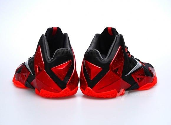Nike LeBron XI Miami Heat Detailed Look
