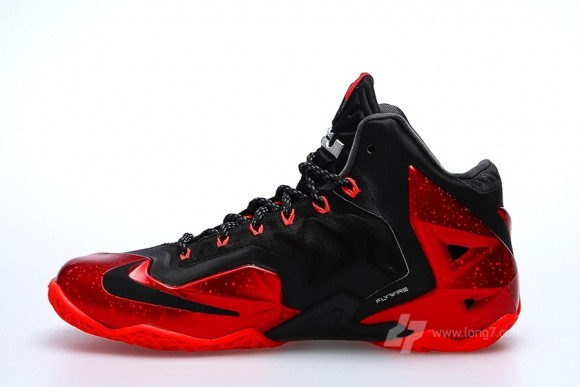 lebron 11 all red