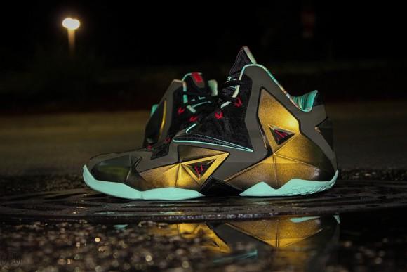 Nike LeBron XI Parachute Gold Release Date