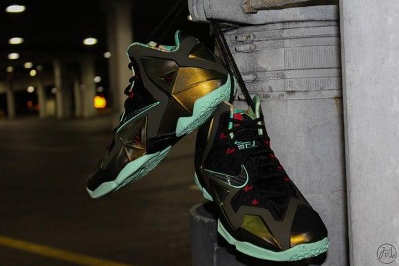 "e0248f5b700b1 Nike LeBron XI ""Parachute Gold"" – Release Date"