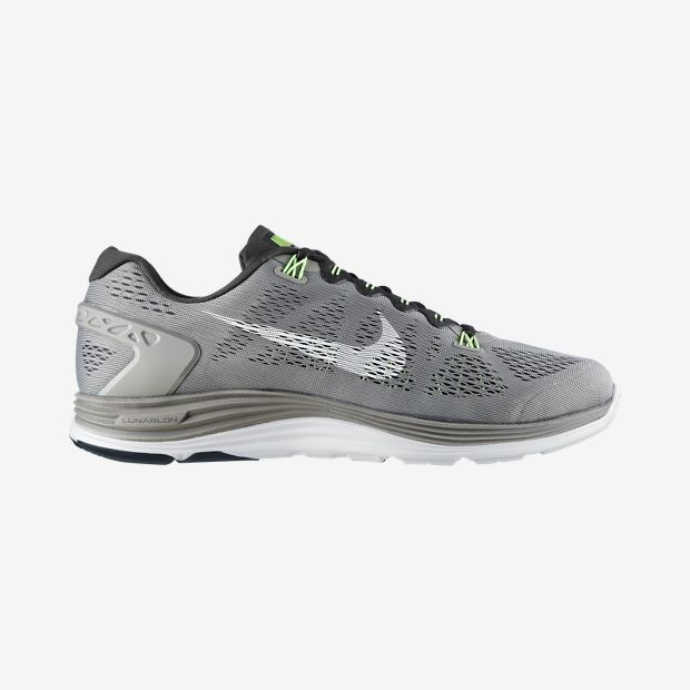 huge discount 79b44 298e4 nike-lunarglide-5-mine-grey-white-newsprint-flash-