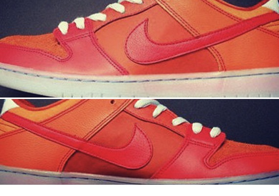 Nike SB Dunk Low Orange Red